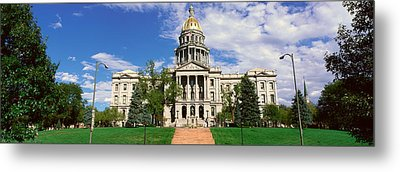 State Capitol Of Colorado, Denver Metal Print by Panoramic Images