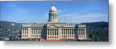 State Capitol Of Kentucky, Frankfort Metal Print