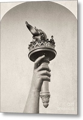 Statue Of Liberty, 1876 Metal Print by Granger