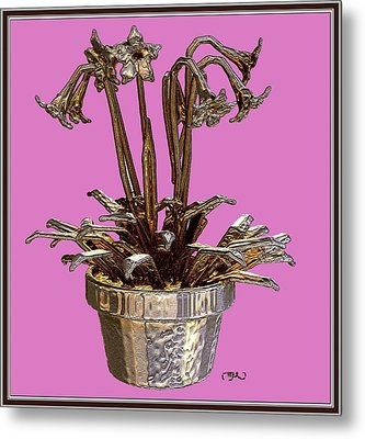 Still Life With Flowers 2 Metal Print