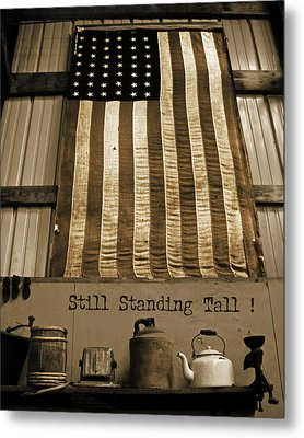 Still Standing Tall Metal Print by Joanne Coyle