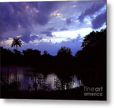 Metal Print featuring the photograph Storm Clouds Gather by Merton Allen
