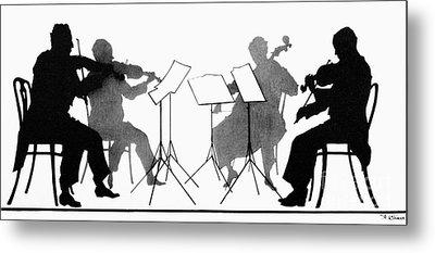 String Quartet, C1935 Metal Print