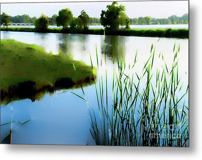 Metal Print featuring the mixed media Summer Dreams by Betty LaRue