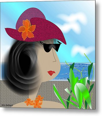 Summer,  I'm Ready Metal Print