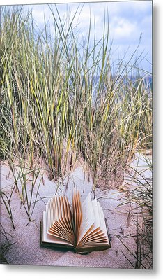 Summertime Is Reading Time Metal Print
