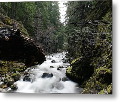 Summit Creek  Metal Print by Jeff Swan
