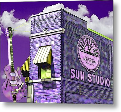 Sun Studio Collection Metal Print by Marvin Blaine