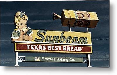 Sunbeam - Texas Best Bread Metal Print by L O C