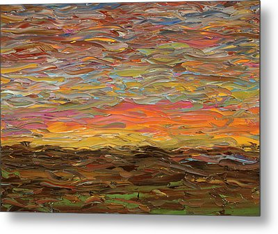 Sunset Metal Print by James W Johnson