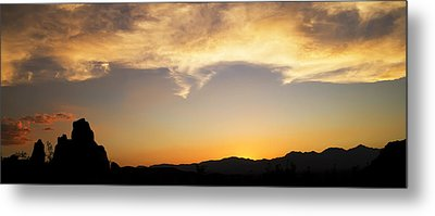 Sunset On Rademacher Metal Print by Mike Hill