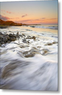 Sunset Tides Metal Print by Mike  Dawson