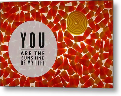 Metal Print featuring the photograph Sunshine by Bobby Villapando