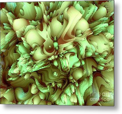 Sweet Flowers Metal Print by Moustafa Al Hatter