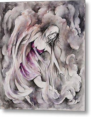 Swept Away Metal Print by Rachel Christine Nowicki