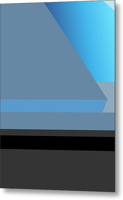Symphony In Blue - Movement 1 - 2 Metal Print