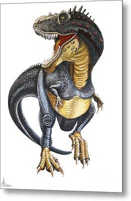 T-rex Metal Print by Murphy Elliott