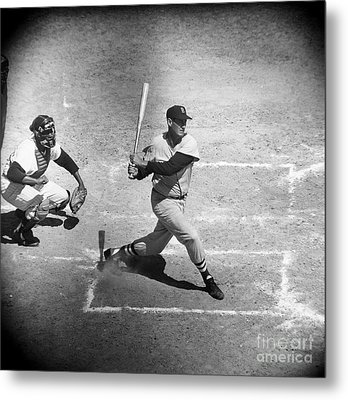 Ted Williams (1918-2002) Metal Print by Granger