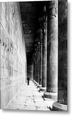 Temple Of Horus At Edfu, 20th Century Metal Print