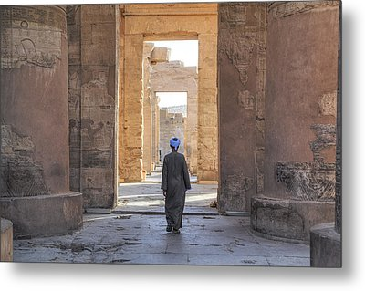 Temple Of Kom Ombo - Egypt Metal Print by Joana Kruse