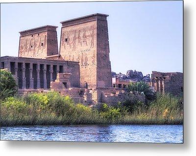 Temple Of Philae - Egypt Metal Print by Joana Kruse