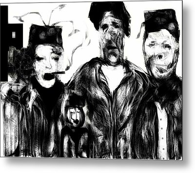 The Actors Metal Print by Rc Rcd
