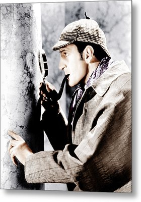 The Adventures Of Sherlock Holmes Metal Print by Everett