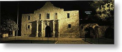 The Alamo San Antonio Tx Metal Print