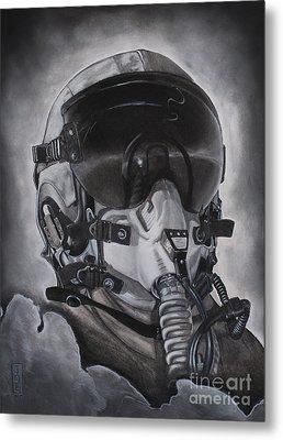 The Aviator Metal Print by Joe Dragt