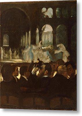 The Ballet From Robert Le Diable Metal Print by Edgar Degas