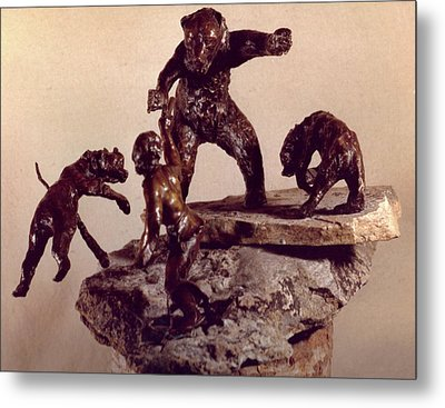 The Bear Trap  Metal Print by Willoughby Senior