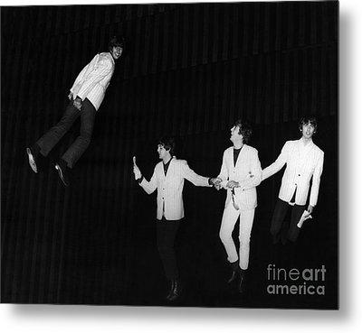 The Beatles, 1964 Metal Print by Granger
