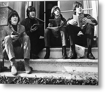The Beatles, 1965 Metal Print by Granger