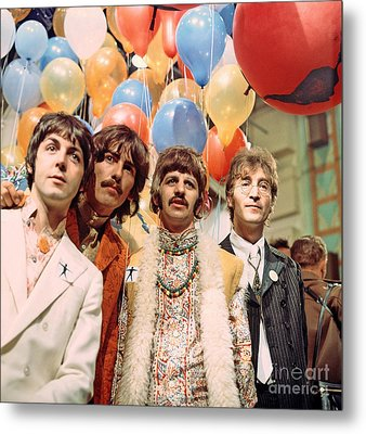 The Beatles Sgt. Pepper Release Party Metal Print