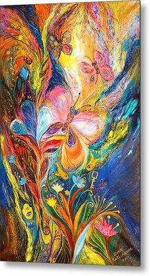 The Butterflies Metal Print by Elena Kotliarker