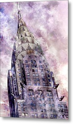 The Chrysler Building Metal Print by Jon Neidert