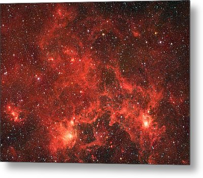 The Dragon Fish Nebula Metal Print