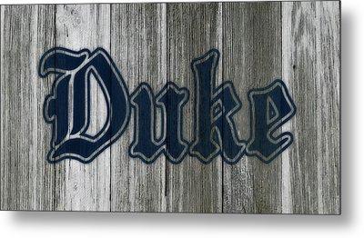 The Duke Blue Devils 1b Metal Print by Brian Reaves