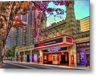 The Fabulous Fox Theatre Atlanta Georgia Art Metal Print