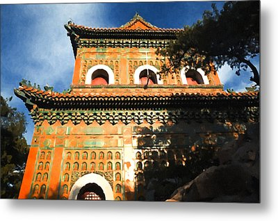 The Famous Summer Palace Metal Print by Lanjee Chee