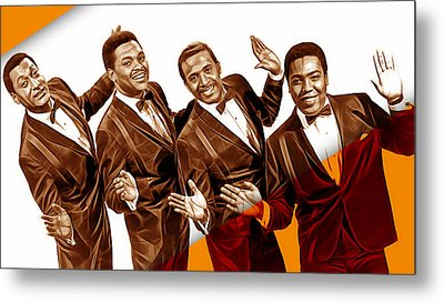The Four Tops Collection Metal Print