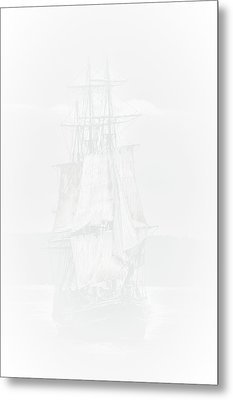 The Ghost Ship Metal Print by David Patterson