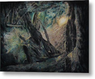 The Glow Will Guide Me Metal Print by Shirley McMahon
