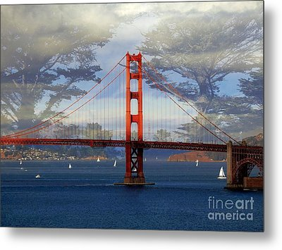 The Golden Gate Bridge  Metal Print by Scott Cameron