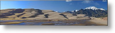 The Great Sand Dunes Metal Print