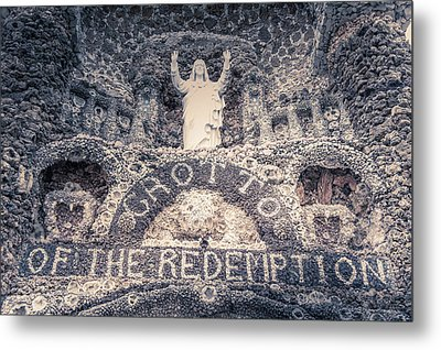 The Grotto Of The Redemption Metal Print by Art Spectrum