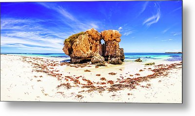 The Sentry, Two Rocks Metal Print
