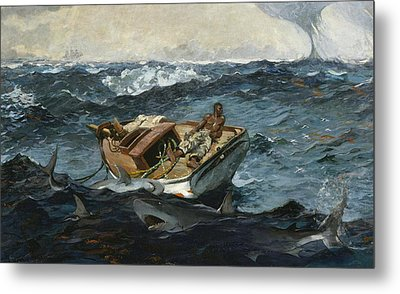 The Gulf Stream Metal Print by Winslow Homer