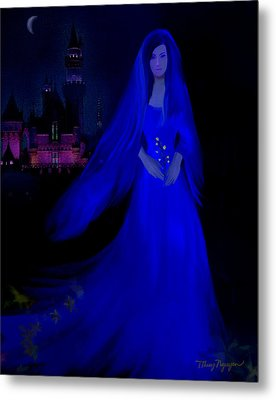 The Haunted Castle Metal Print by Thanh Thuy Nguyen
