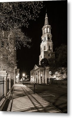 Metal Print featuring the photograph St. Michael's Episcopal Church by Carl Amoth